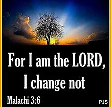 Image result for God changes not