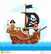 Image result for pirate ship cartoon