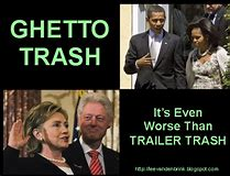 Image result for trash obama images