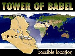 Image result for Bible Babel Map