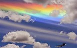 Image result for Fire Rainbow clouds wallpaper