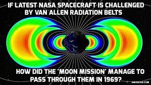 Image result for NASA Van Allen Belts Cannot Pass