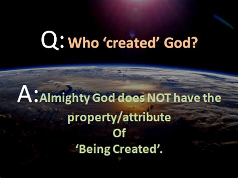 Image result for who created God?
