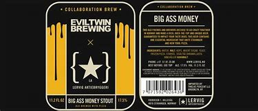 Image result for evil twin big ass stout