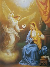 Image result for Angel and Mary