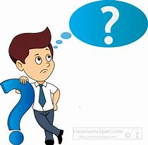 Image result for Person Questioning Clipart free