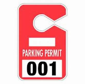 Image result for parking pass clipart