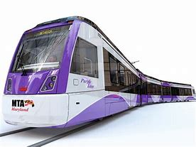 Image result for purple line train
