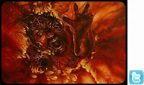 Image result for SATAN IS THROWN IN THE LAKE OF FIRE