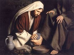 Image result for the lord washed his disciples feet