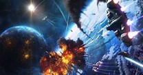 Image result for Space Battle Wallpaper. Size: 208 x 110. Source: getwallpapers.com