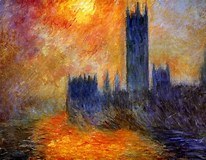 Image result for Houses of Parliament Monet Series. Size: 206 x 160. Source: www.tuttartpitturasculturapoesiamusica.com