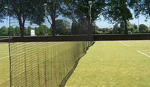 Image result for tennis court divider netting