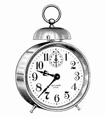 Image result for Victorian clock Clip Art Black and White