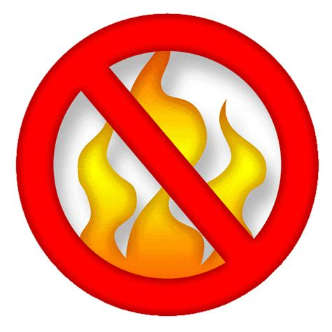 Image result for no burning