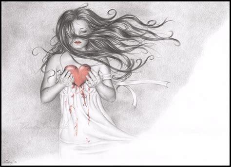 Resultado de imagem para coraçao sangrando desenho