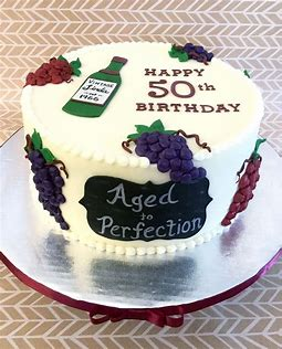 Image result for Birthday cake 50th