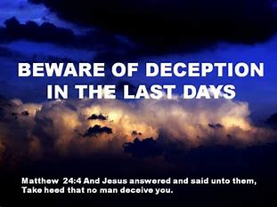 Image result for Beware deception