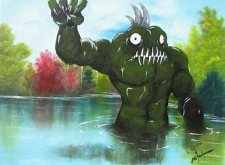 Image result for images of swamp monsters