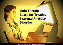 Image result for seasonal affective disorder treatment lights