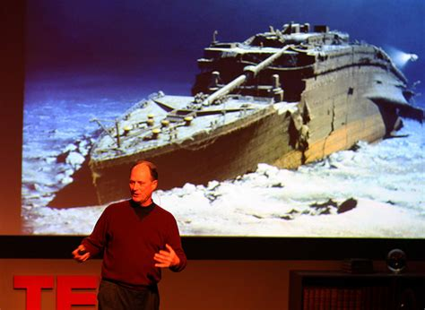 Image result for Robert Ballard Titanic