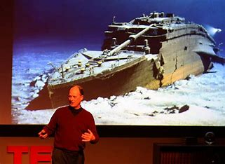 Image result for Robert Ballard Titanic