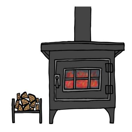 無料素材 イラスト 薪ストーブ に対する画像結果
