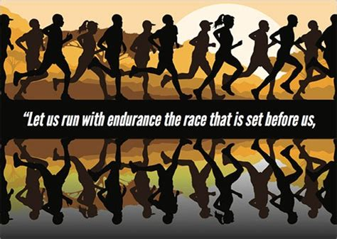 Image result for let us run the race with endurance