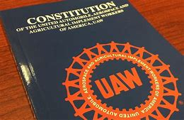 Image result for uaw gm contract book