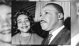 Image result for mlk and coretta king
