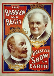 Image result for Images 19 Century Barnum and Bailey Big Top. Size: 147 x 204. Source: commons.wikimedia.org