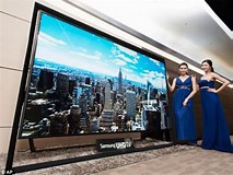 Image result for world's largest tv. Size: 213 x 160. Source: www.dailymail.co.uk