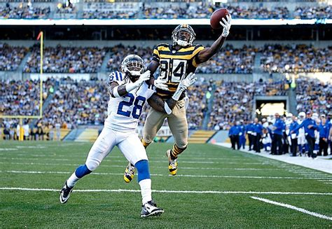 Image result for antonio brown catch