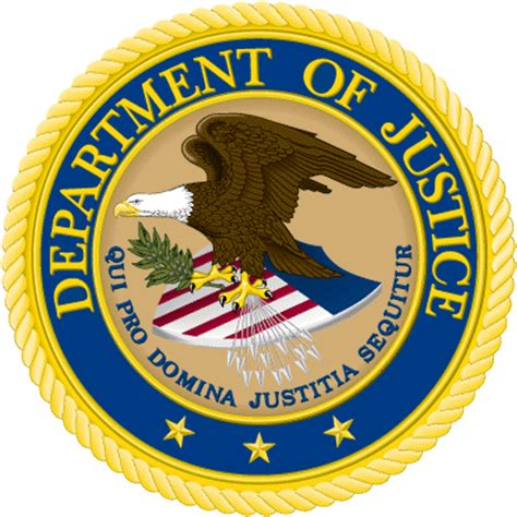 Image result for Wikicommons images U.S. department of justice Logo