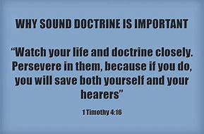 Image result for sound doctrine
