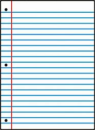 Image result for lined notebook paper