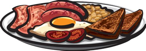 Image result for Full Breakfast Clip Art