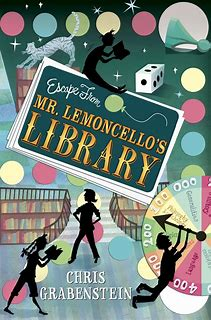 Image result for escape from mr lemoncello's library