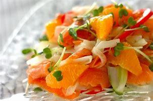 柑橘類のサラダ に対する画像結果