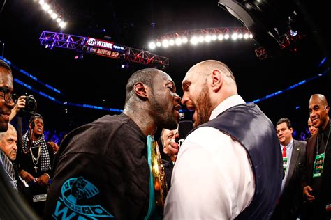 Image result for wilder vs fury poster