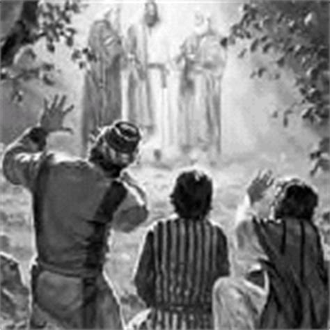 Image result for the transfiguration of Jesus gif