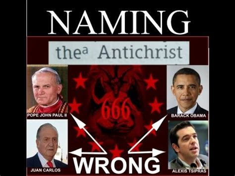 Image result for naming the antichrist