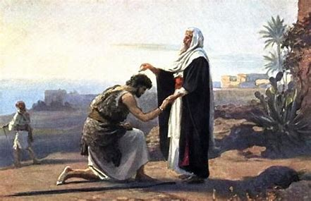 Image result for Samuel anoints Saul