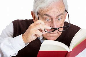 Image result for old man reading