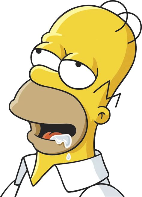 Image result for homer drooling