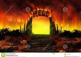 Image result for cartoon image of hell fire
