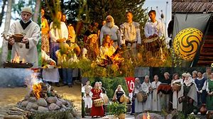 Image result for pagans worship nature