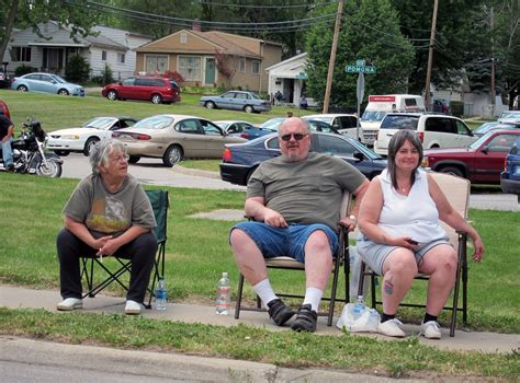 Image result for people in lawn chairs