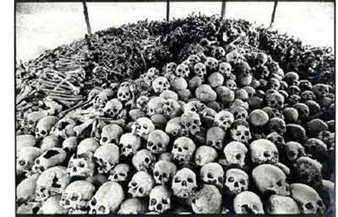 Image result for images pol pot cambodia skulls