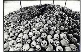 Image result for images pol pot cambodia skulls